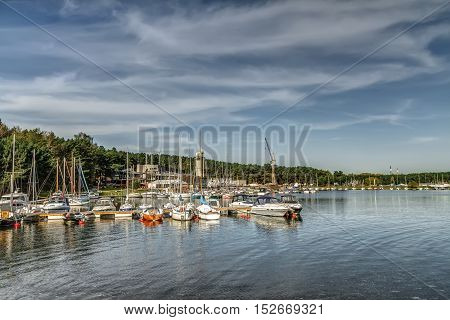 Yacht Club In Autumd