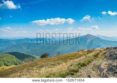 Polonina Wetlinska, Bieszczady mountains, Poland