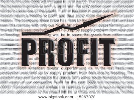 profit background for a presentation