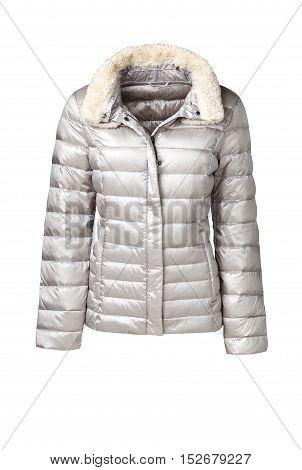 Womens Coat Isolated On White