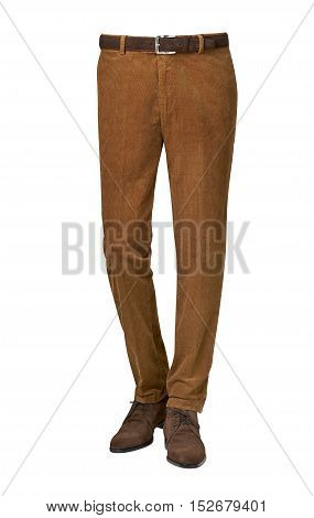 Mens Pants Isolated On White Background
