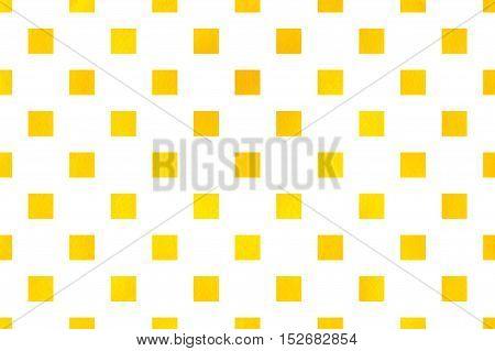 Watercolor Square Pattern.