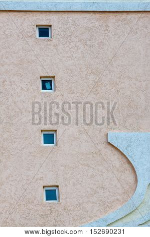 Texture, Background. The Plaster On The Building, Decorative Plaster