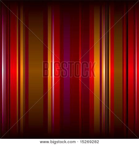 rayas de fondo de pantalla en muchos colores rojos con un gradiente de sombra superior e inferior