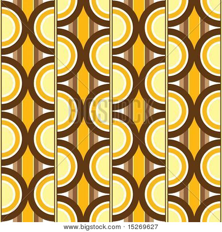 seventies inspired wallpaper design that will seamlessly tile