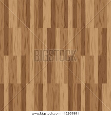 Abstract wooded tile with a plank design in brown