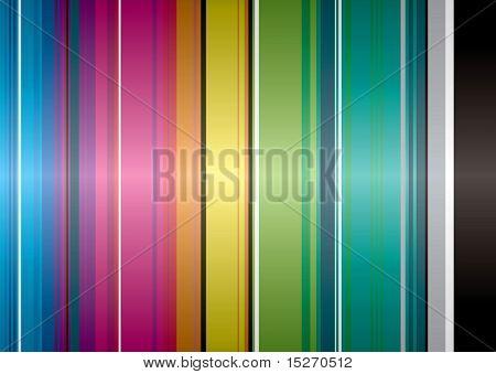 Illustriert von Regenbogen-Hintergrund, die einen idealen Desktop gemacht würde