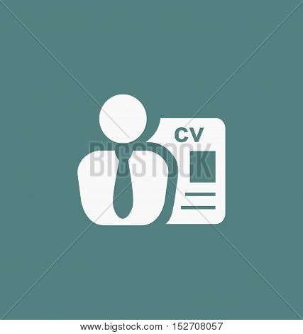 Employee Icon. Recruitment Sign. Headhunting