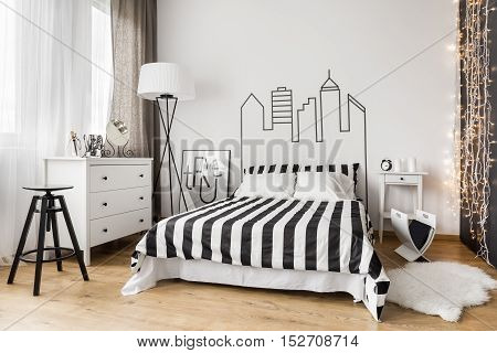 Stylish Female Bedroom