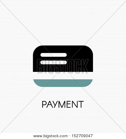 Payment Icon. Credit Or Debit Card Payment Type Symbol Vector Illustration
