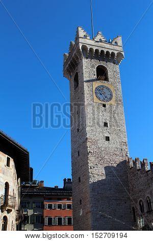 Duomo Square In Trento, Italy