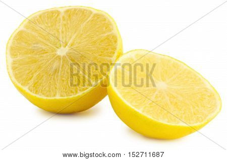 Yellow Medical Lemon Isolated On A White Background