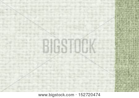 Textile surface, fabric industry, emerald canvas, cloth material swatch background