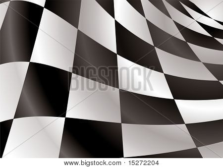 Finishing checkered flag style background with abstract squares