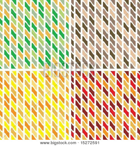 Abstract reapeat tile design that is seamless in four colour variations