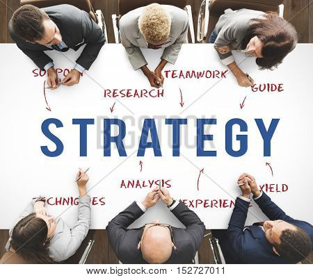 Strategy Business Company Strategy Marketing Concept