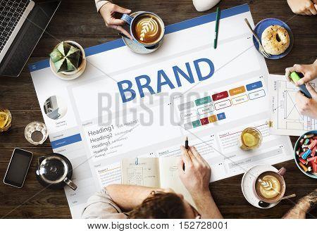 Creative Sample Website Design Template Concept