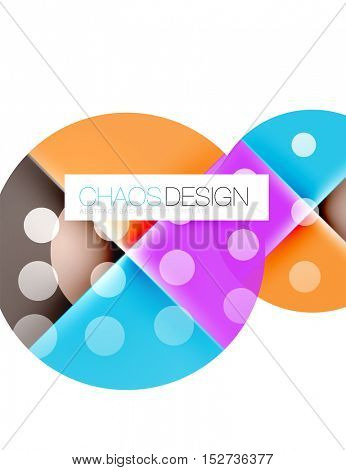 Geometric modern abstract background