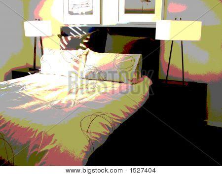 Funky Bedroom