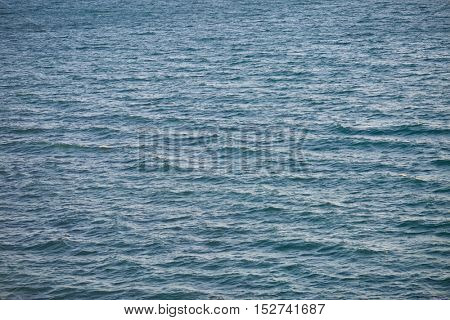 Calm sea surface with nobody. Nature background