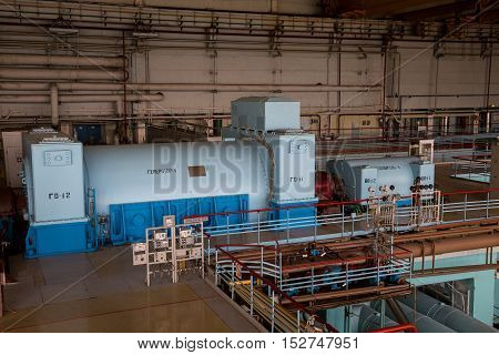 Inside the machinery of nuclear power plant, Press tour to Kursk Nuclear power plant, 06.23.2016
