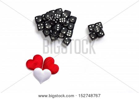 A lot of dice. Heart. The view from the top. Insulation.