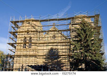 St. Francis Cathedral, Santa Fe, New Mexico, Us, U.s.a.