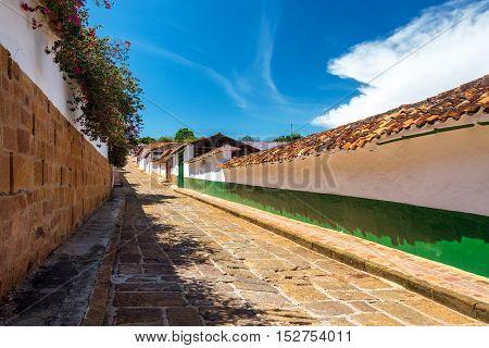 Street In Barichara
