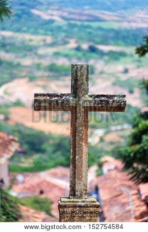 Stone Cross Vertical