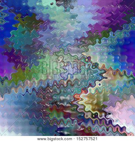 Abstract coloring background of the horizon gradient with visual pagecurl, lighting, shear,wave and plastic wrap effects, good for your project design