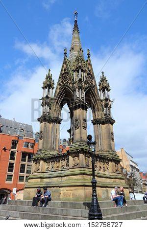 Albert Memorial, Manchester