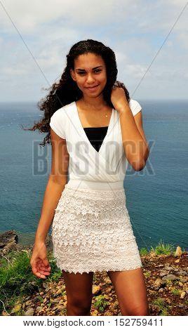 Teenager Of Cape Verde