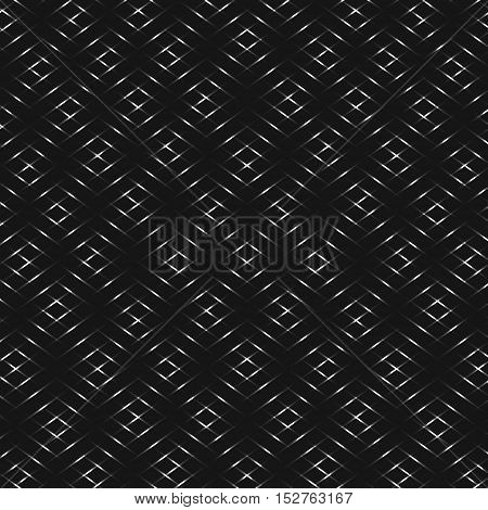 Diamond silver grid shades of grey vector background