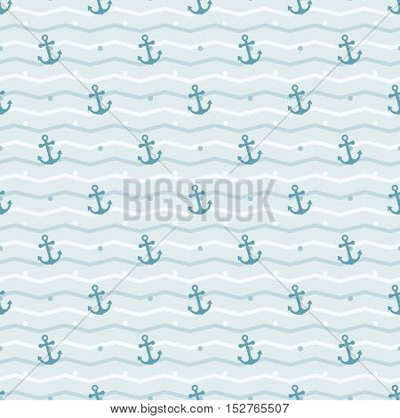 seamless anchor background background and pattern vector illustration