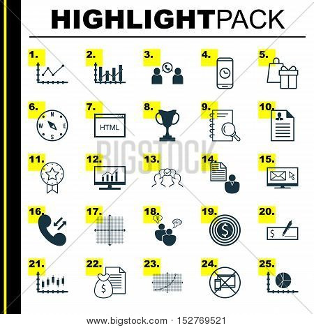 Set Of 25 Universal Editable Icons For Human Resources, Advertising And Traveling Topics. Includes I