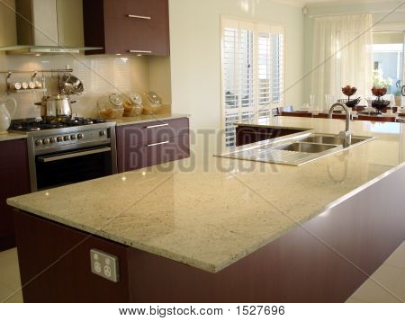 Kitchen With Granite Benchtop