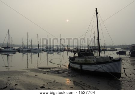 Conwy Harbour At Dawn