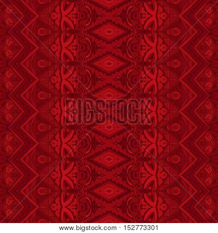 Embroidery Pattern in Red. Perfect for wallpapers, pattern fills, web backgrounds, surface textures, cards, gift wrap