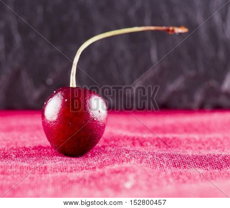 Cherry Over Red Tissue
