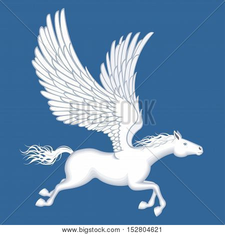 Pegasus - Vector illustration - EPS .