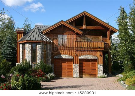 Beautiful upscale cedar built home.