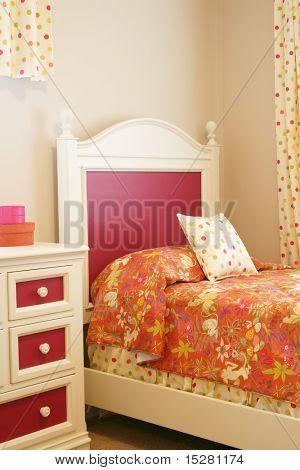 Little girl's bedroom.