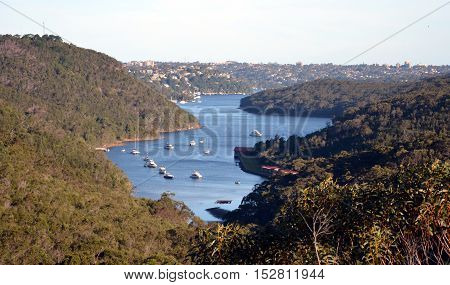 Middle Harbour from Seaforth (Sydney NSW Australia)