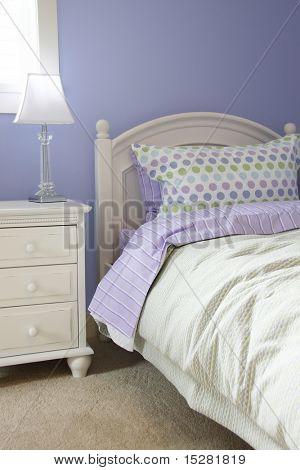 Young girls bedroom.