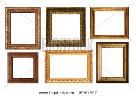 Antique frame collection, add your own text or pictures.