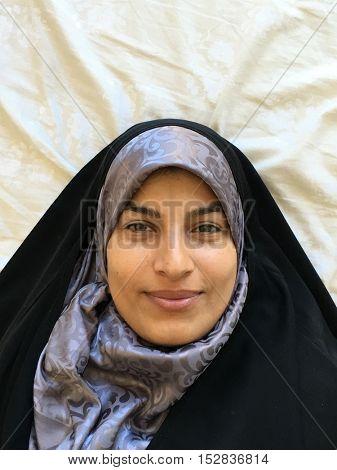 Muslim female portrait