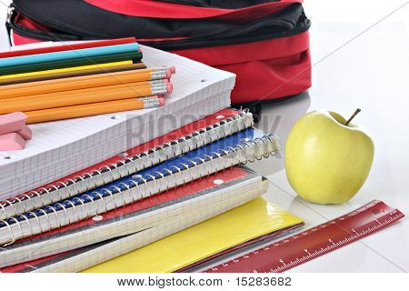 Back to school supplies.