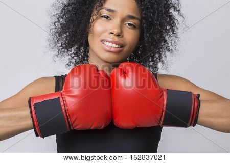 Future Olympic Champion In Boxing