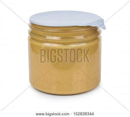 Peanut Butter In Sealed Plastic Jar