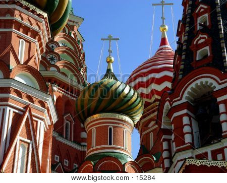 Details Of St. Basil Cathedral
